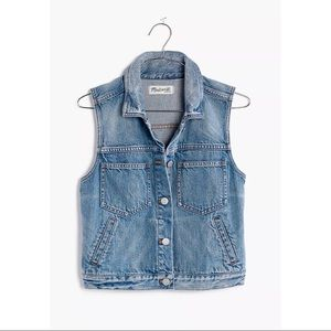 Madewell The Pocket Jean Vest S